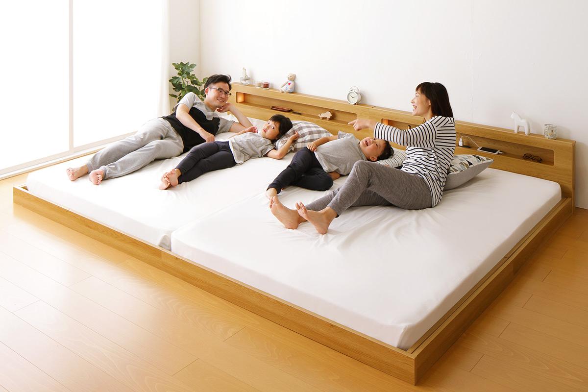 家族みんなが笑顔になれるベッド